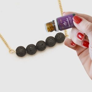 Aroma Oil Diffusion Natural Necklace